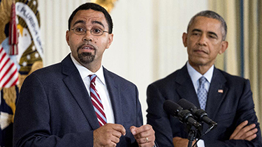 John King and Barack Obama